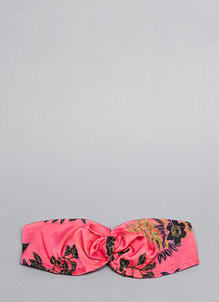 Stay Fresh Embroidered Floral Headband