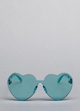 My Love Heart-Shaped Sunglasses