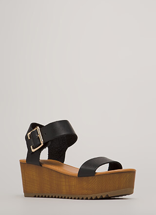 Flat Out Amazing Platform Wedges