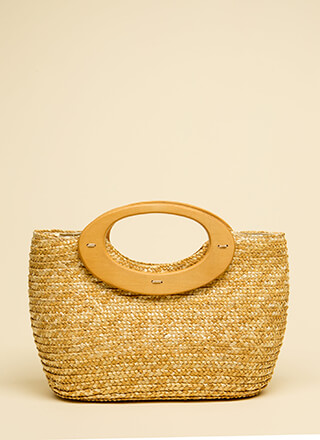 Make The Basket Woven Handbag