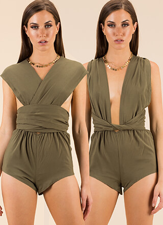 I Like It Like That Multi-Way Romper