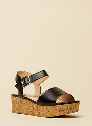 No Day But Today Platform Wedges
