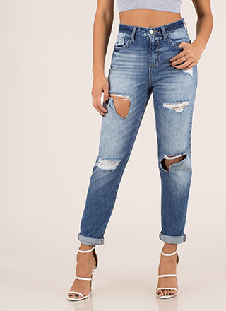 Destroy The Competition Girlfriend Jeans