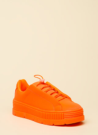 Get Thick Quick Platform Sneakers