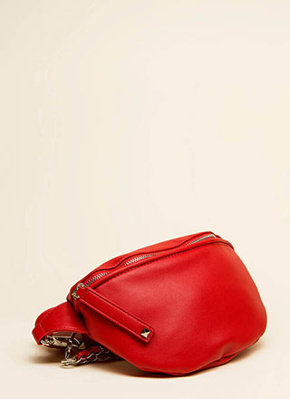 Pick Up The Option Double Strap Purse