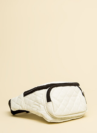 Ready To Roll Quilted Fanny Pack