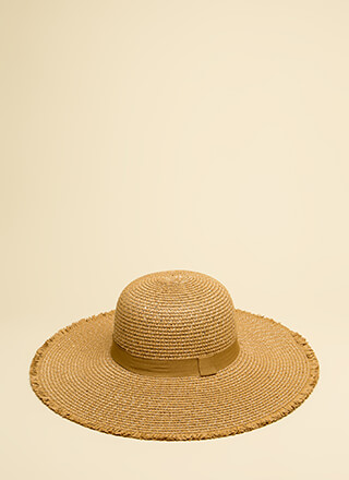 Under The Sun Fringed Sun Hat