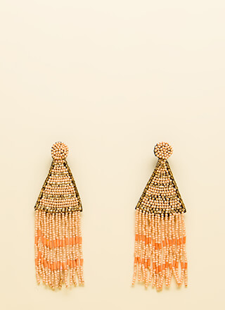Bring To The Party Beaded Earrings
