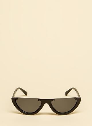 Go Halfsies Partial Frame Sunglasses