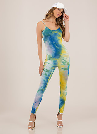 It Felt Like A Dream Tie-Dye Jumpsuit