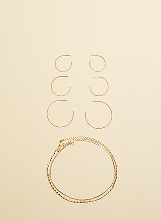 All You Need Choker And Earring Set