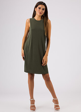 Shift In The Atmosphere Tank Dress