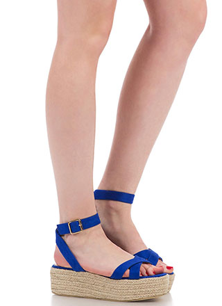 20ace6b9057 My Vacation Strappy Platform Sandals
