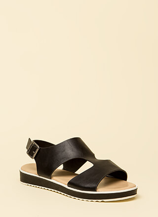 Bestie Cut-Out Platform Sandals