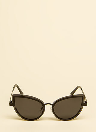 Raindrops Droptops Oversized Sunglasses