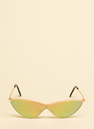 Cat Woman Flared Sunglasses
