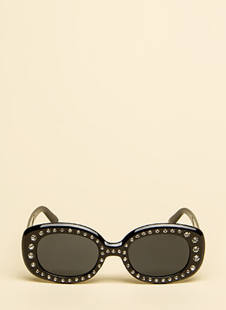 Sparkly Eyes Rhinestone Sunglasses