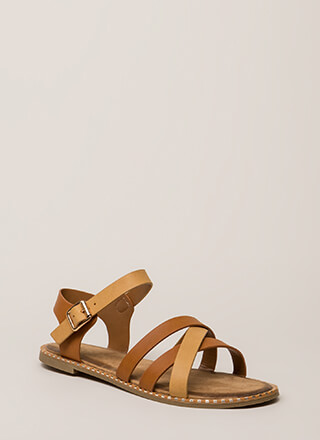 Always A Pleasure Strappy Sandals