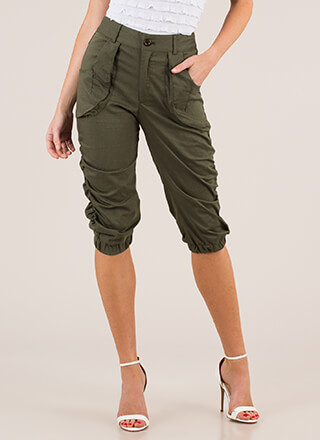 Adventure Calls Cropped Safari Pants
