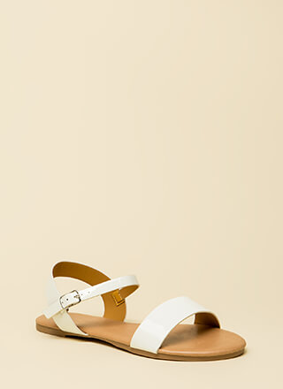 Weekend Bound Ankle Strap Sandals