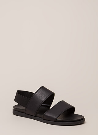 Band Mate Strappy Slingback Sandals