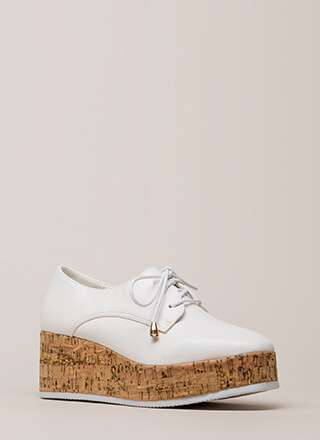 Oxford Graduate Platform Wedges