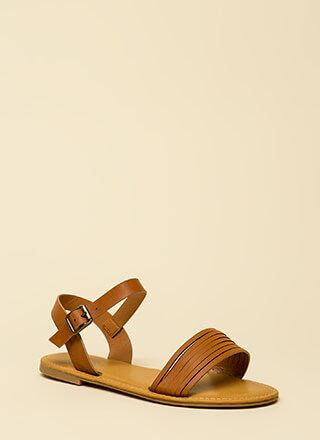 Slits For The Best Strappy Sandals