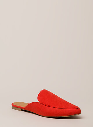 Nice And Easy Slip-On Smoking Flats