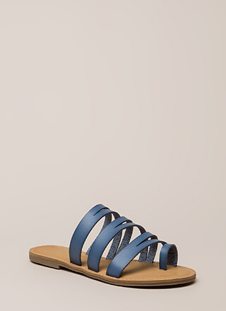 Slits A Good Thing Strappy Sandals