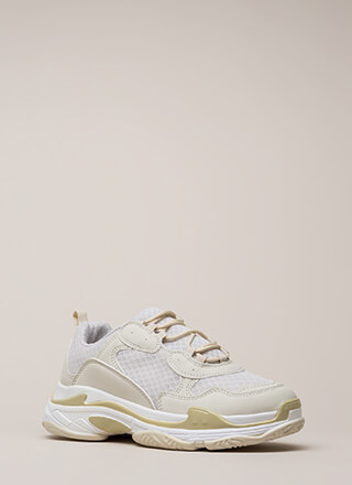 Athletic Ability Platform Sneakers