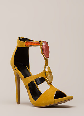 Hunt For Treasure Cut-Out Heels