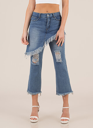 Skirt Chaser Destroyed Denim Jeans