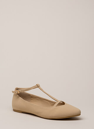 The Definition Of Style T-Strap Flats