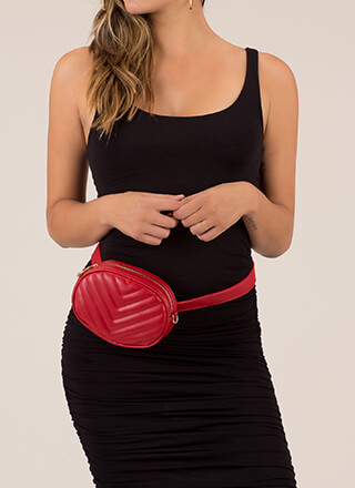 New Convert Quilted Fanny Pack Purse