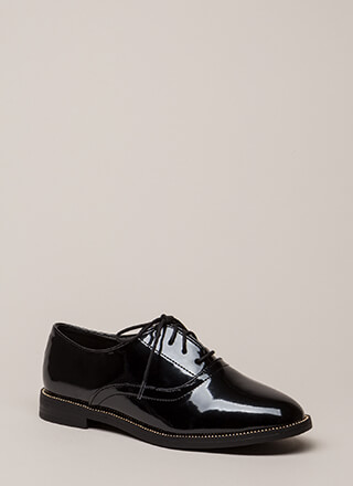 Full Potential Studded Lace-Up Oxfords