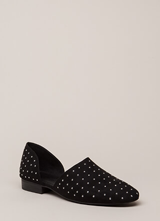 Connect The Dots Studded Flats