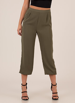 The Easy Life Pleated Jogger Pants