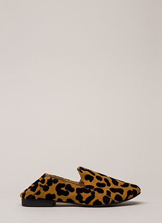 Walk On The Wild Side Leopard Flats