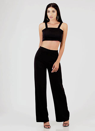 One Two Free Two-Piece Palazzo Set