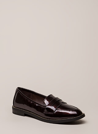 Potential Suitor Studded Loafer Flats