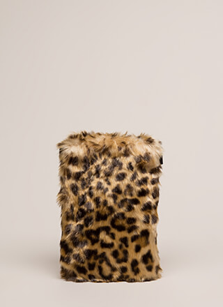 Flat Out Amazing Mini Faux Fur Clutch