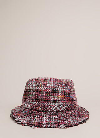 In The Tweeds Fringed Bucket Hat