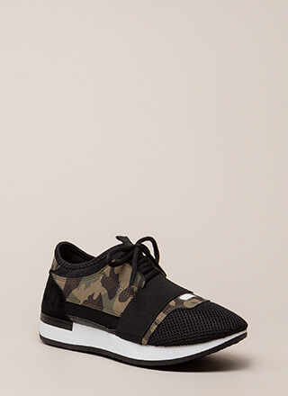 It's Got Everything Camo Sneakers