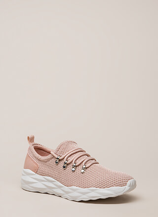 New Dimensions Knit Platform Sneakers