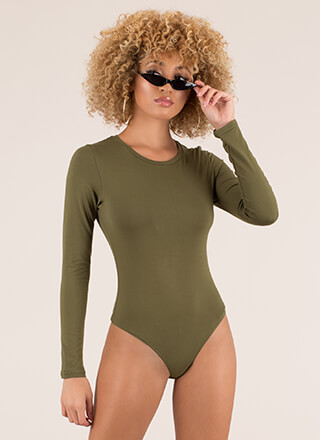 My Wants And Needs Thong Bodysuit