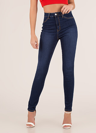 Just Perfect High-Waisted Skinny Jeans