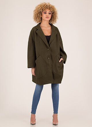 Two Peas In A Pod Oversized Coat