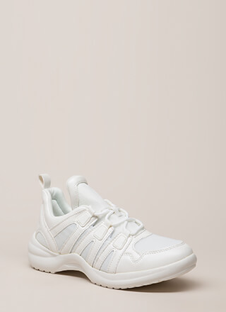 Wish Come True Paneled Sneakers