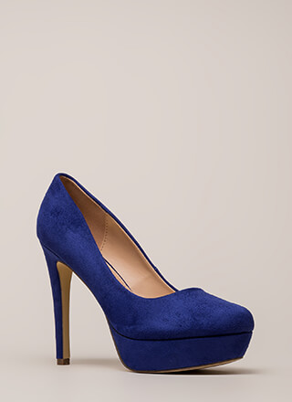 Simple Satisfaction Platform Pumps