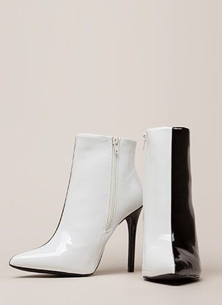 Half It Your Way Pointy Stiletto Booties